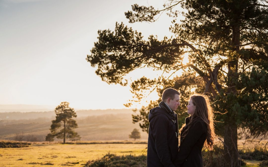 Ashdown Forest Engagement Photos | Lucie and Connor
