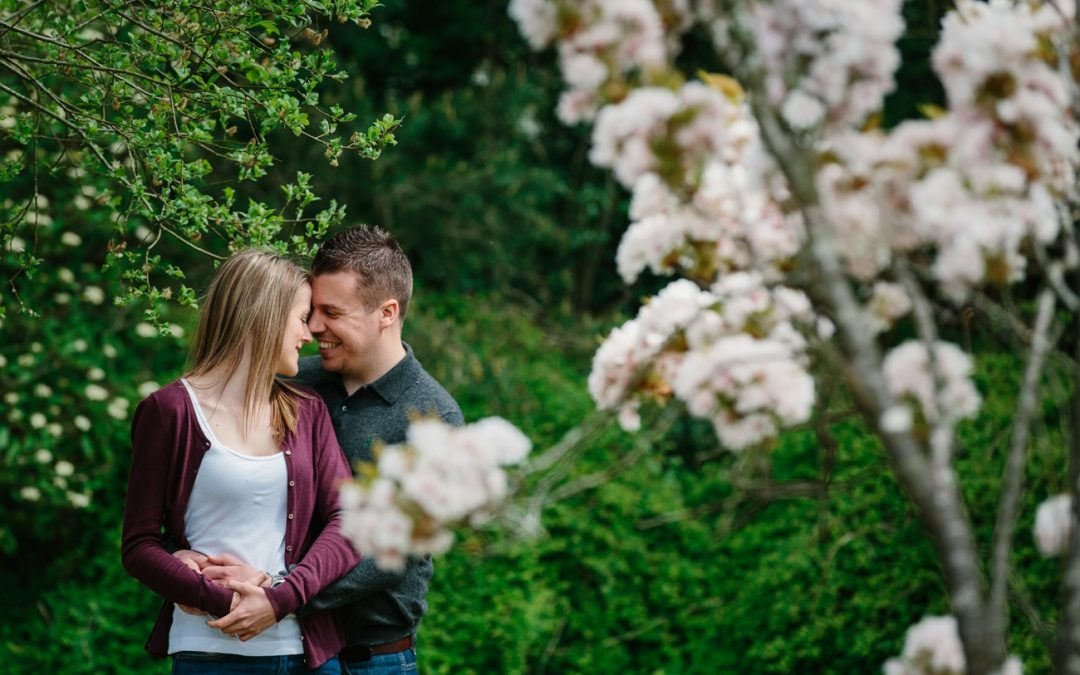 Country Garden Engagement Photos | Will and Amanda