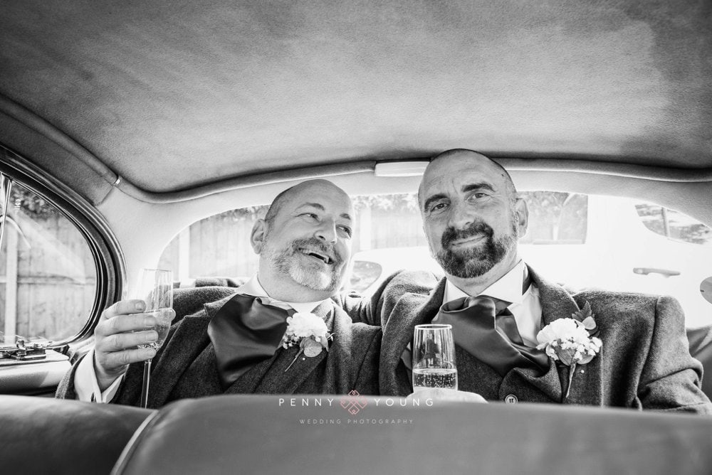 Rustic Essex Same Sex Wedding | Paul and Alan