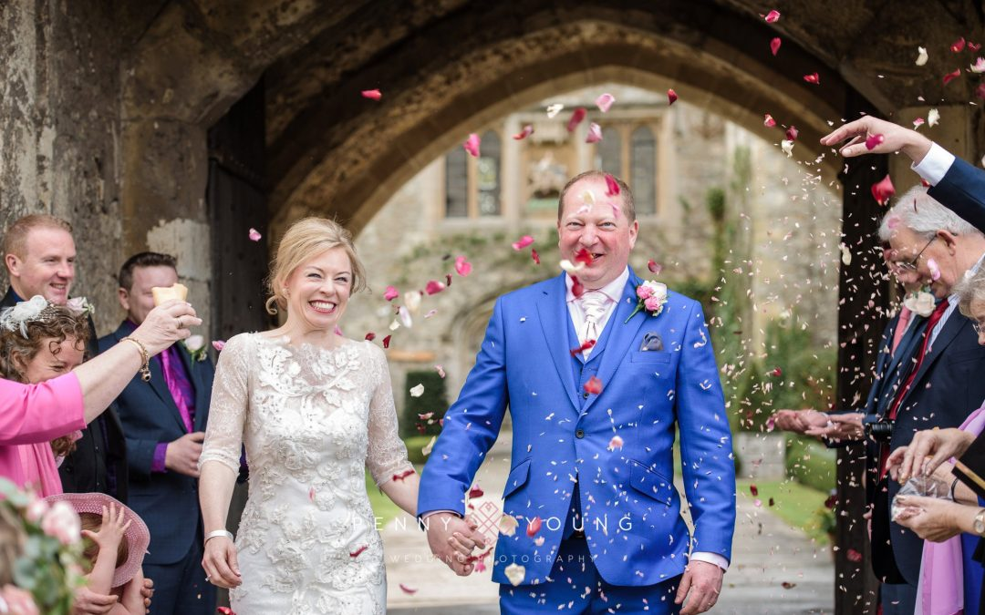 Allington Castle Wedding | Miranda and Mark