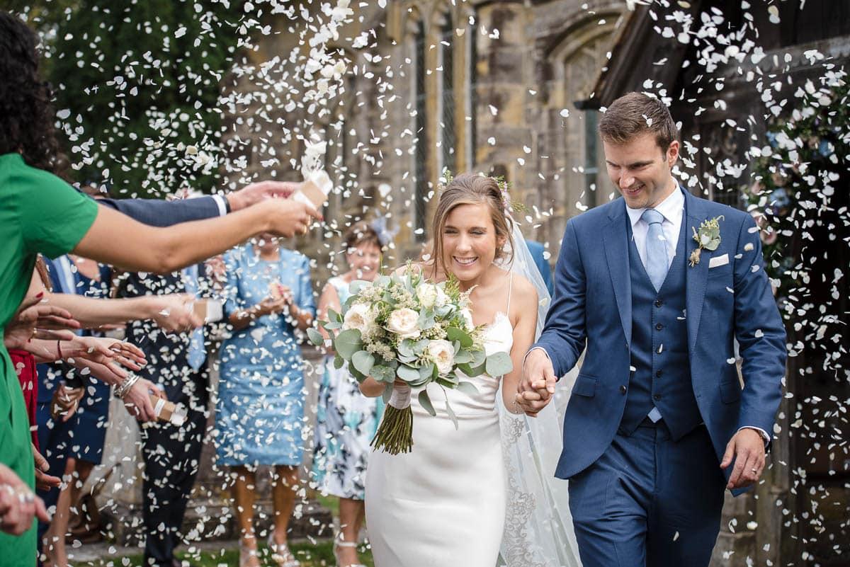 Kent Wedding Photography Information - The confetti shot