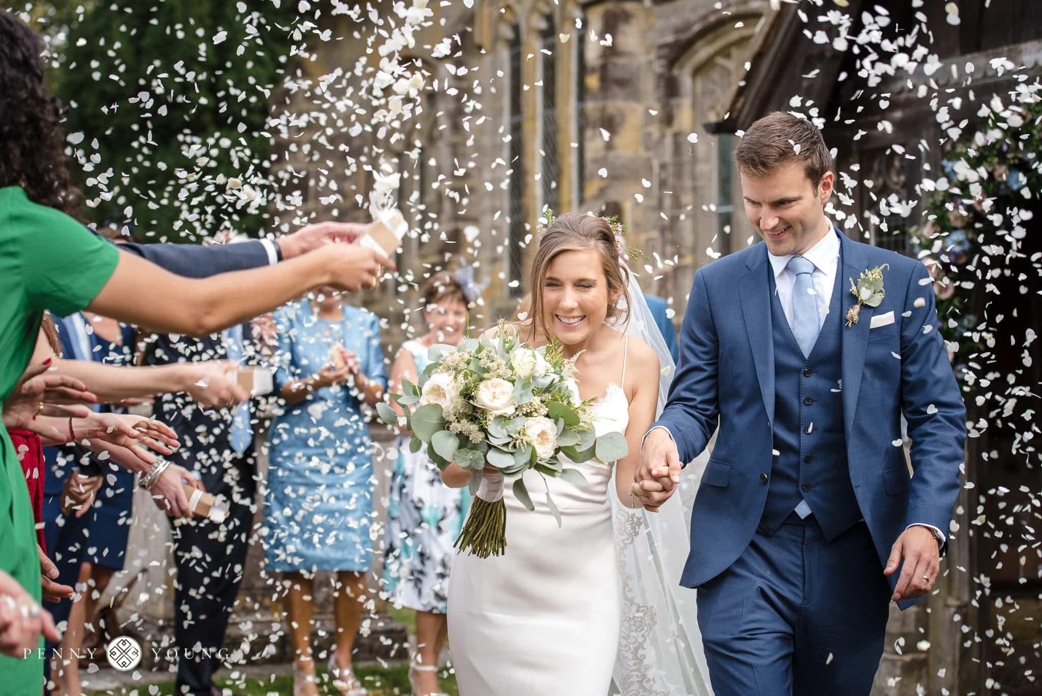 Floral Penshurst Place Wedding