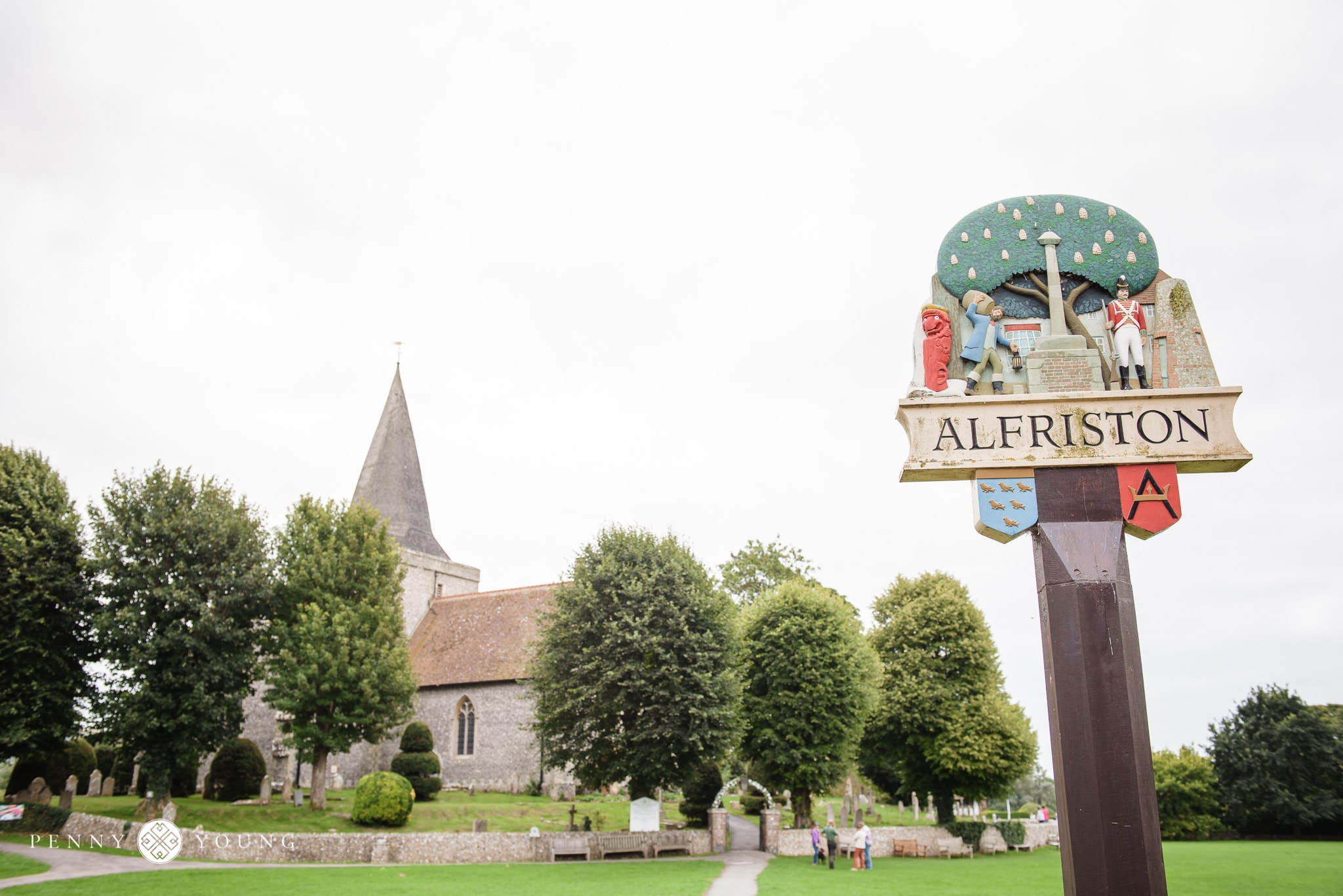 Country Village Wedding in Alfriston
