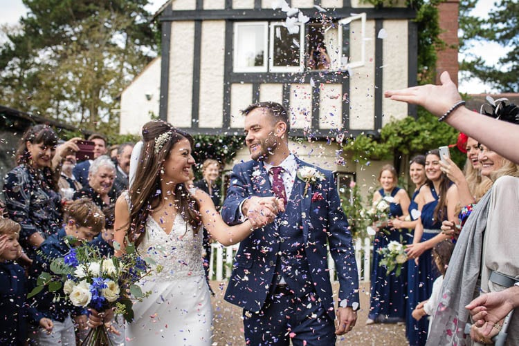 Kent Wedding Photography Information - The confetti shot