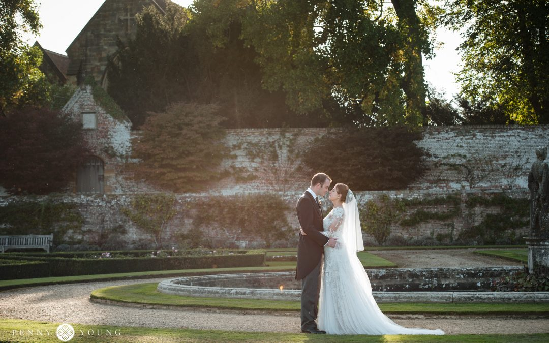 Pretty Pastel Wedding at Penshurst Place