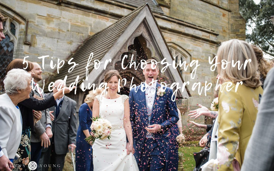 5 Tips for Choosing Your Wedding Photographer