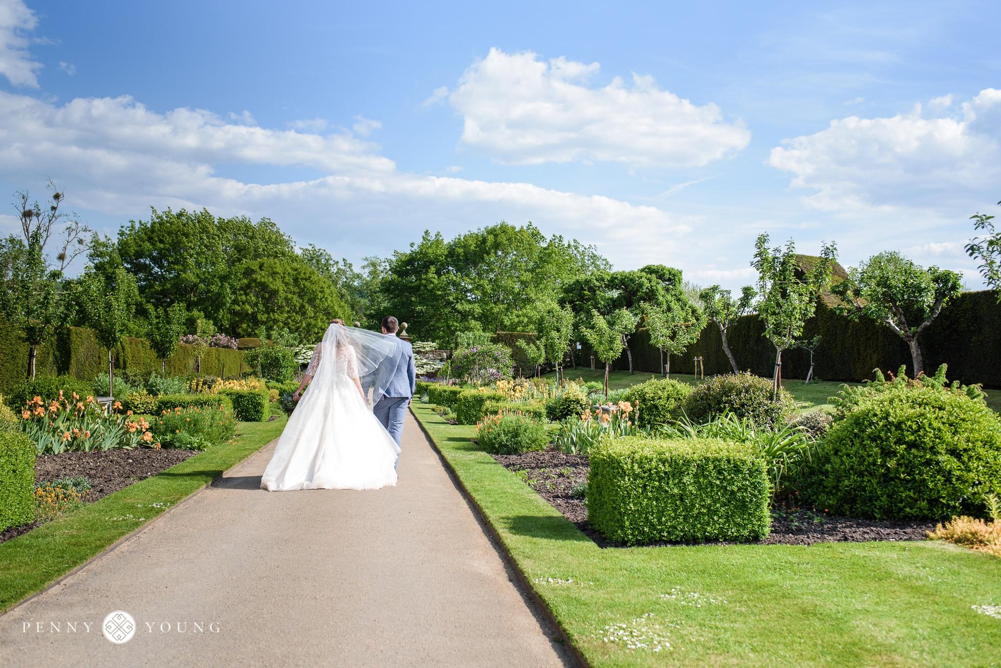 Spring Wedding at Penshurst Place