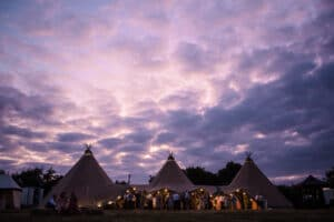 Summer Garden Tipi Wedding