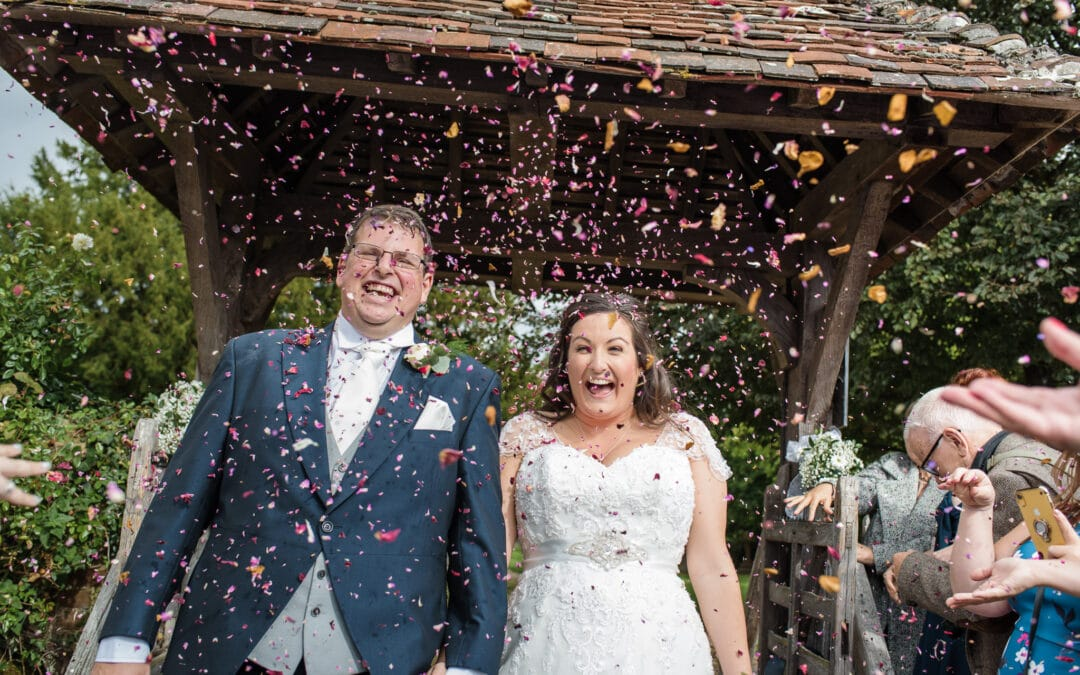Barn Wedding at The Plough in Leigh